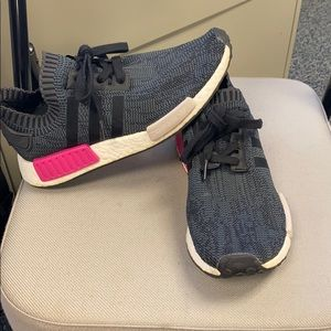 Adidas Black and Pink NMD